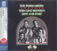 The Persuaders Thin Line Between Love and Hate Classic 70s Soul CD (warner)
