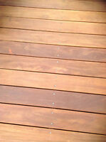 GARAPA Holz Terrassendielen 21x145mm glatt/glatt 6,95€ bis max.Länge 6,10m