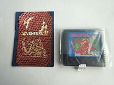 Atari 5200 Adventure II 2 w/ Manual Tested Working *VG Condition* Homebrew Game
