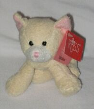 Russ Berrie Luv Pets Tabbies the Cream Cat #23250 with Tags - Pre-Owned