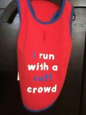 New listing Nwt Bailey & Bella Dog Tank Shirt I Run With A Ruff Crowd All Sizes Free Ship