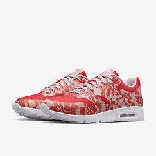 Nike Lab Lace Air Max 1 Ultra Womens Trainers Shoes UK 3.5 EUR 36.5 Red White