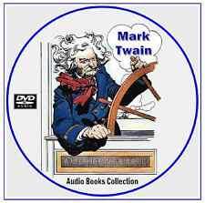 MARK TWAIN ~ 165 Audio Books - Classic Literature Collection on 2 Mp3 DVD CD's