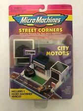 "Micro Machines - Street Corners ""City Motors"" Car Dealership - UNOPENED BOX !!!"