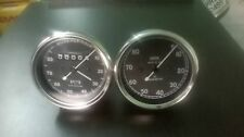 Smiths Speedometer 80 mph and Tachometer 8000 rpm 80 mm fitment M12x1 replica