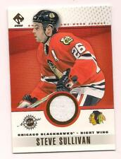 2002/3 Pacific Private Stock Game Jersey Steve Sullivan Chicago Blackhawks