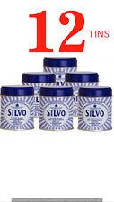 12 x Silvo Wadding  Metal Silver Polish Tarnish Guard 75g Tin