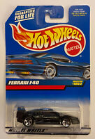 1999 Hotwheels Ferrari F40 Black! Very Rare! Mint! MOC!