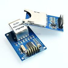 ENC28J60 LAN Ethernet+ SD Module Netzwerk für Arduino Atmel AVR PIC 3270 RJ-45