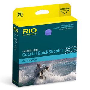 RIO COLDWATER COASTAL QUICKSHOOTER XP WF8I #8 WT INTERMEDIATE FLY FISHING LINE