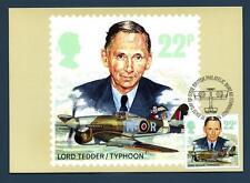 GREAT BRITAIN - GRAN BRETAGNA - Cart. Post. - 1986 - La Royal Air Force (Signore