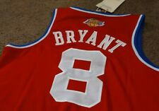 KOBE BRYANT LOS ANGELES LAKERS size XL ALL STAR JERSEY NEW W/TAGS