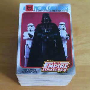 Topps THE EMPIRE STRIKES BACK Trading Cards 1980 Series 1 - Pick 5 from my list.