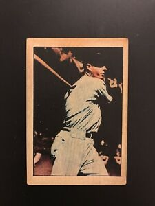 Joe DiMaggio Berk Ross Baseball Card