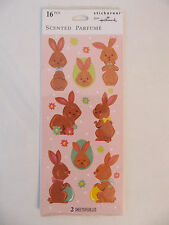 NEW Hallmark Easter Photographic Cute Baby Bird Bunny Duck Egg 16 Stickers
