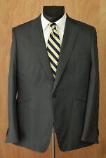d27ab2c8cc827 Ted Baker London Cotton Sport Coat Size 7 Gray Striped Jacket Blazer
