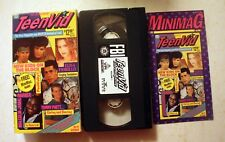VHS: TeenVid: premiere issue volume 1 I new kids on the block Video Magazine