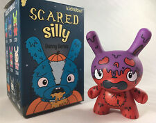 GMD genetically modified Dunny purple ~ Kidrobot Bots SCARED SILLY Vinyl Figure