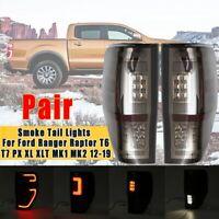 Rückleuchten Für Ford Ranger T6 T7 XL Xlt MK1 MK2 2012-2019 LED Schwarz Lampe