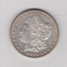 USA 1880S SILVER MORGAN DOLLAR IN NEAR MINT CONDITION