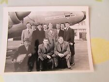 Original Harringay Racers Ice Hockey 1952 - 1953 Season Norway Tour Team Photo