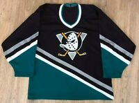 Anaheim Mighty Ducks vintage CCM NHL Hockey jersey size S-M (SEE MEASUREMENTS)