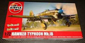 Airfix A02041A Hawker Typhoon Mk.IB Ground Attack Fighter Model Kit Scale 1:72