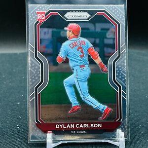 2021 Prizm Baseball Dylan Carlson RC BASE St Louis Cardinals