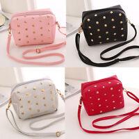 Small Women's Leather Shoulder Bag Satchel Handbag Tote Purse Hobo Messenger Bag