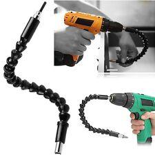 "1/4""/6.35mm Flexible shaft Hex Flex Electronic Screwdriver bit connector 11.6""in"