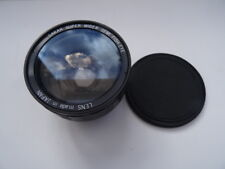 Sakar Super Wider Semi Fish-Eye Lens. With case and lens cap.