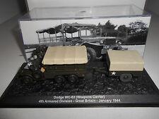 DODGE WC-63 4TH ARM DIV 1944 #08 MILITARY DeAGOSTINI 1:72