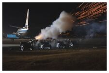 8 x 12 Silver Halide Photo 21 Gun Salute At Andrews AFB For Gerald Ford Funeral