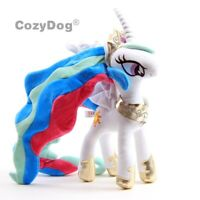 Princess Celestia Plush Toy Lovely Unicorn White Horse Stuffed Animal Doll 12''