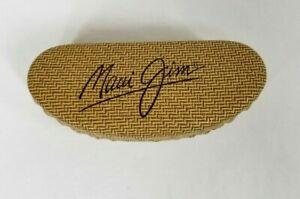 Maui Jim Leather Sunglasses Clam Hard Case Large