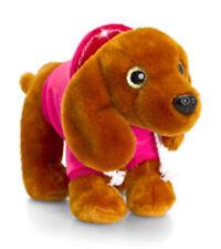 Korimco Dachshund Wags Sparkle Eyes Dog Hoody 16cm Keel Soft Plush Toy