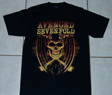 AVENGED SEVENFOLD T Shirt (S) Small Mens A7X On tour with metallica volbeat