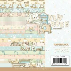 "Find It Trading 'NEWBORN' 6x6"" Paper Pk 23 Sheets Tree Baby CPP10037"