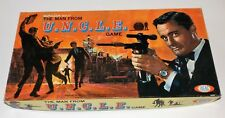 1965 Napoleon Solo The Man From U.N.C.L.E. Board Game Ideal No. 2311-9 UNCLE