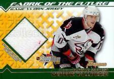 2002-03 Bowman YoungStars Fabric of the Future #FFJHT Henrik Tallinder