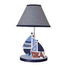 Sail Away Lamp BoatShade Baby Nursery Kids Room Boys Bedtime Originals New