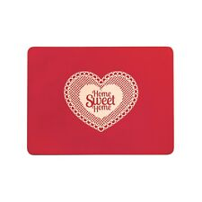 S/4 Cork Placemats Home Sweet Home 29 X 21.5Cm