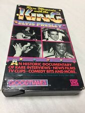 Elvis Presley VHS Movie Rare Moments With The King