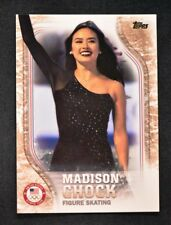 2018 Topps US Winter Olympics Gold #USA-42 Madison Chock /25