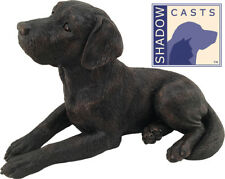 Large 140 Cubic Inches Labrador Retriever ShadowCasts Bronze Urn for Ashes