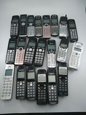 21 Untested Cordless Telephones Panasonic, at&t, Vtech. All have batteries