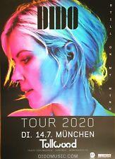 DIDO  2020 MÜNCHEN - orig.Concert Poster - Plakat A1