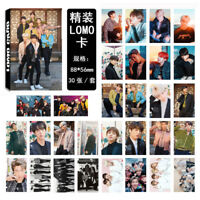 30pcs /set KPOP Bangtan Boys Magazine Photo Card Poster Lomo Cards