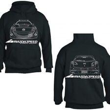Mazdaspeed 3 Hooded Sweater Jacket Pullover Hoodie