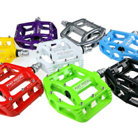 SHANMASHI MTB Road Bike Pedal Lightweight Magnesium Alloy Bicycle Pedals 9/16 in